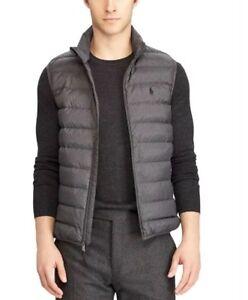 Polo Ralph Lauren Men's Packable Down Vest/ Jacket- Gray ...