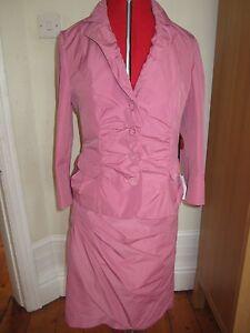 Suit 12 Skirt Barclay Pink Betty 14 Jacket Bnwt Wedding £ 210 40 Womans Uk 38 azRqn5