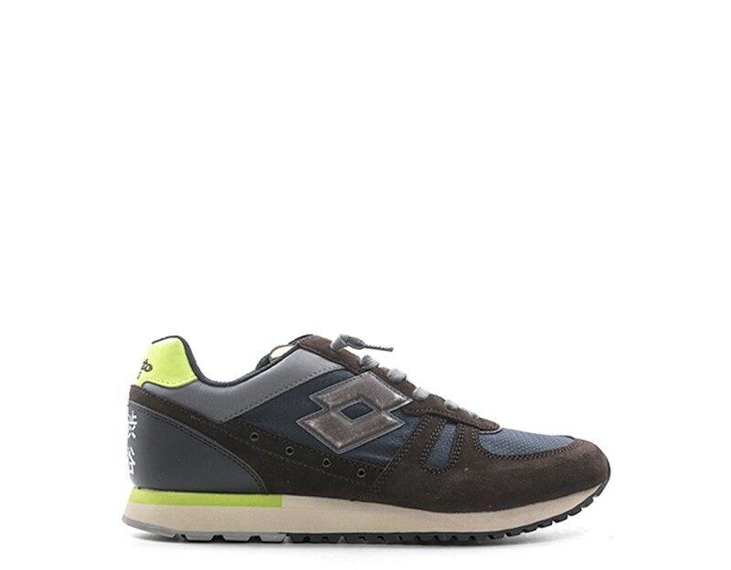 Zapatos Tenis LOTTO LEGGENDA Hombre Marrón Azul T0849