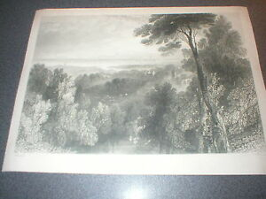 c-1840-Ayr-Antique-Engraving-by-William-Harvey-Scotland