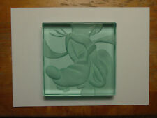 Disney Robert Guenther RARE Goofy Etched Glass Paperweight