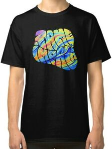 Tame-Impala-Abstract-Men-039-s-Black-T-Shirt