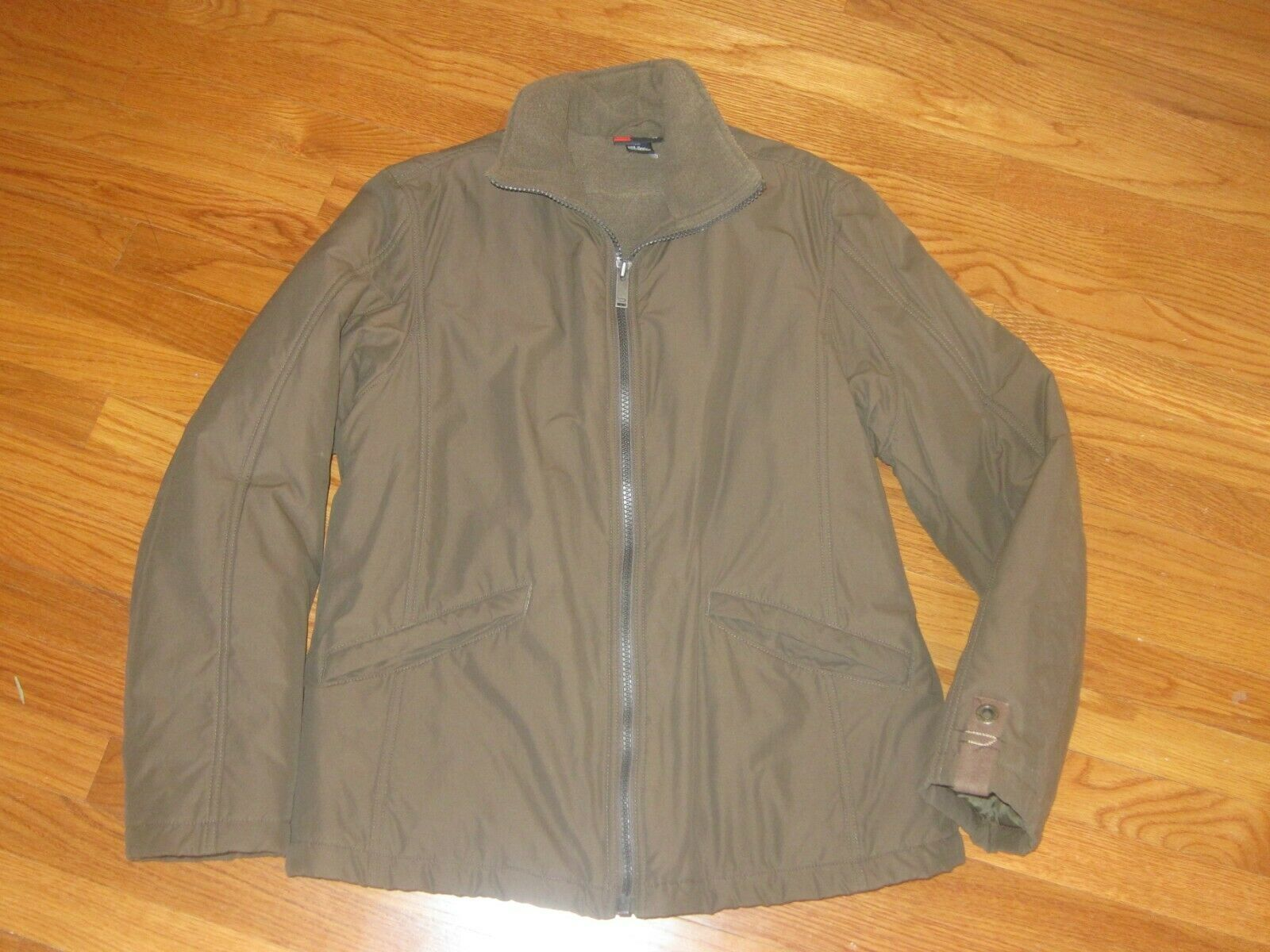 Diesel Brand Mens Coat Jacket Olive Army Grün Größe L RN93243