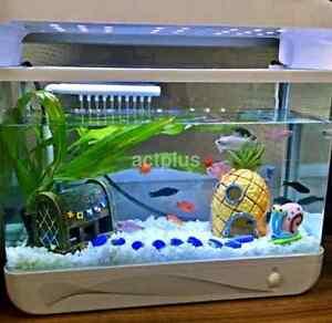 Pineapple House Aquarium Fish Ornament Spongebob Squarepants Hide