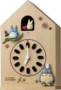 My-Neighbor-Totoro-Karakuri-character-wall-clock-Totoro-4MH899-From-Japan