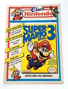 Club-Nintendo-Volume-3-1991-Edition-6-Super-Mario-Bros-3-Noel-Retro