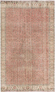 Hand-knotted-Turkish-Carpet-5-039-7-034-x-9-039-3-034-Keisari-Vintage-Traditional-Wool-Rug