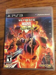 Ultimate Marvel vs. Capcom 3 (Sony PlayStation 3 2010) W ...