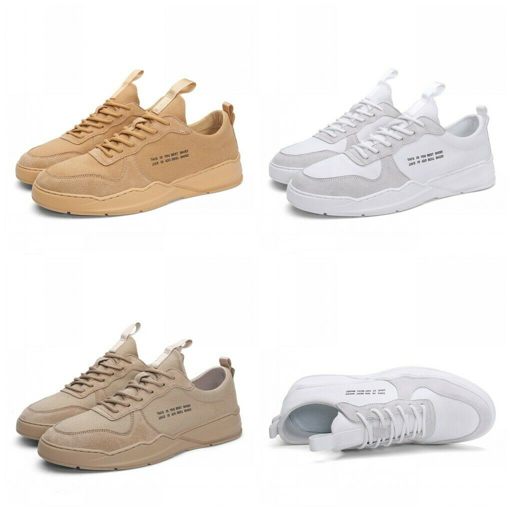 2019 Mens Athletic Lace Up Sport shoes Flats Round toe Basketball Sneakers Hot