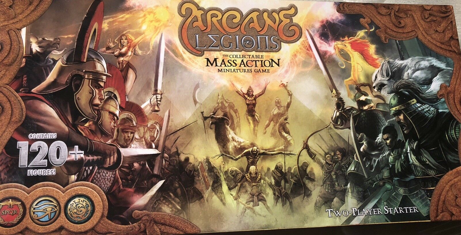 Arcade legions the collectable mass action miniatures game