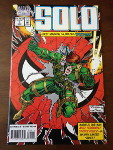 DEADPOOL AND MERCS FOR MONEY #1  Action Figure Var Marvel NM Vault 35 Comic