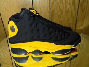 0d7954912494 Air Jordan XIII 13 Retro Graduation Melo Black Suede 414571-035 s ...
