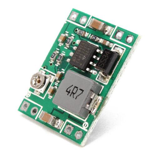 5PCS Mini Step Down Power Supply Module DC-DC Converter 7V~28V to 3.3V 3A