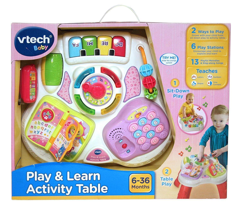 Vtech juega y aprende Tabla De Actividad Juguete Didáctico Preescolar BN