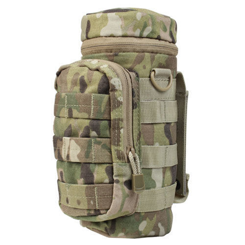 2eb050556a50 Condor Ma40 Multicam Nylon MOLLE Modular Padded Grommet H2o Water Bottle  Pouch for sale online