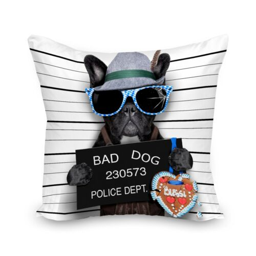 Digital Printed 3D Animal Themed Dogs Square Cushion Covers Cases