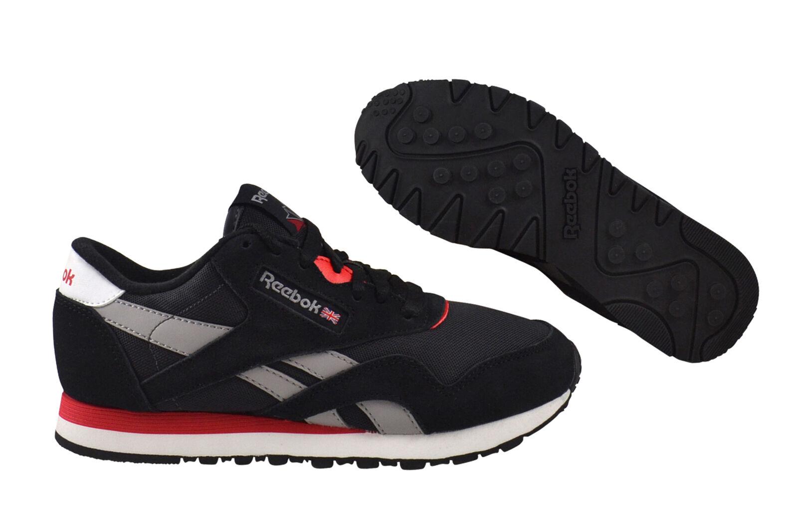 Reebok Classic cl nylon Black/Coal/Grey Sneaker/zapatos negro