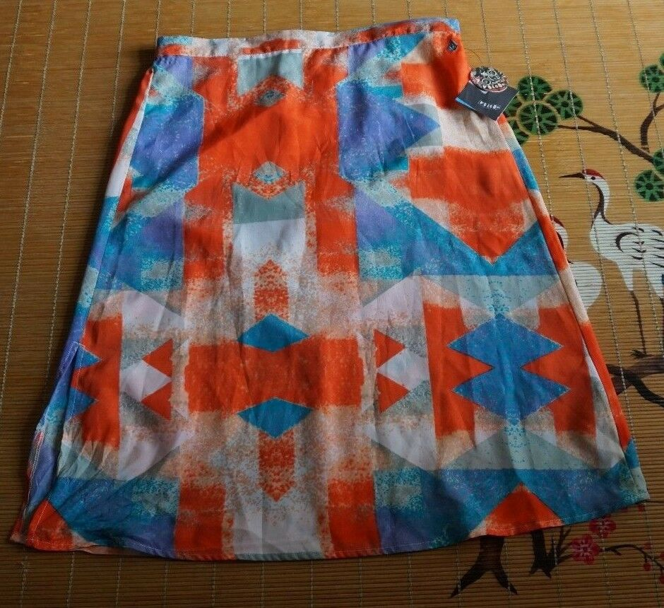 Volcom Womens Skirt Geo Fade Starlight Size Medium M NWT