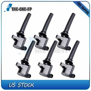 Image Is Loading Pack Of 6 Ignition Coil For 2003 2004