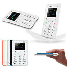 Aiek M5 Mini Ultra Slim Pocket Card GSM Unlocked Cell Phone OLED Screen Quadband