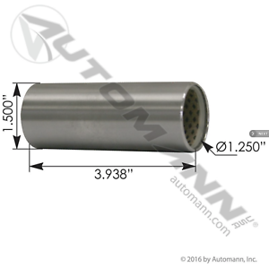 New Peterbilt Suspension Spring Eye Bushing Cabover /& Conventional 02-01805