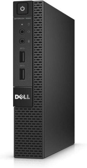NEW Dell OptiPlex 3020M Core i3 250GB SSD 8GB Win10 Micro Tiny Desktop Home PC