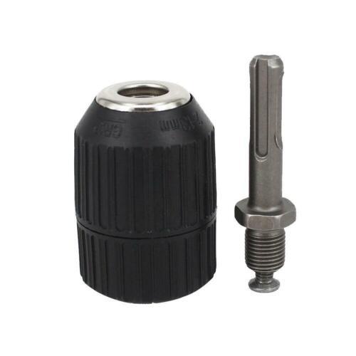 Adaptor Heavy Sds Drill Adapter Shank Keyless 2-13mm Duty Kit W// Chuck L1C0