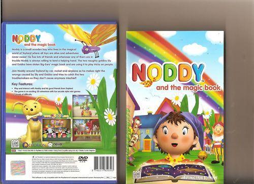 Noddy und das magische Buch Playstation 2 ps2 Kids