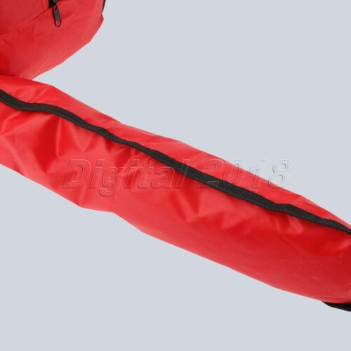"""16/"""" 18/"""" 20/"""" Chainsaw Carrying Bag Red Oxford Storage Holdall Holder Case Box 1X"""