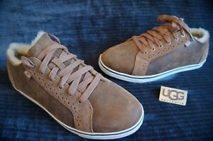 448aa011dee Details about UGG AUSTRALIA ROXFORD BOMBER TWIN FACE SNEAKERS, US 9.5 Mens,  Color: BJCE,
