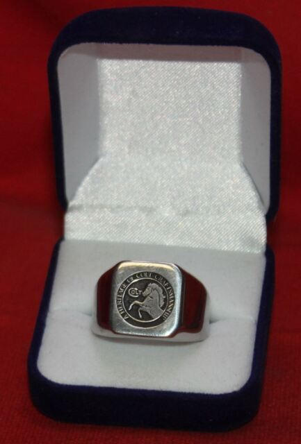 COLT FIREARMS Rampant Colt Stainless Steel Ring Size 13