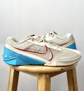 Nike React Metcon Turbo Light Bone Blue Red CT1243 003 Multiple Sizes Brand New