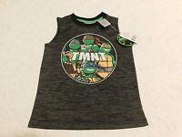 Boys Clothes Tmnt Shirt Black Size 4 5/6 7 Brand Retail $20