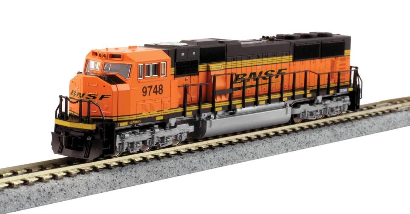 Pista N-Kato diesellok EMD sd70 Mac BNSF Railway -- 176-6321 nuevo