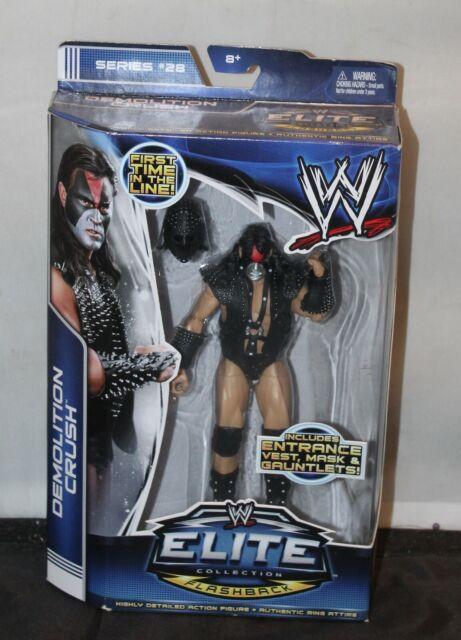WWE DEMOLITION CRUSH Figure Elite 28 WRESTLING WWF Flashback Kona Crush WCW Kiss