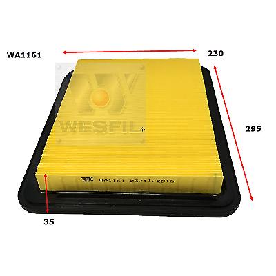 WESFIL AIR FILTER FALCON 2002-2011 WA1161