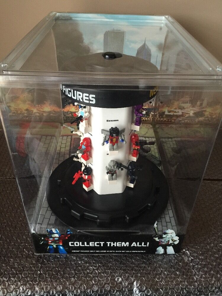 Transformers KREO Collection of 16 Figures + Store Display Case Optimus Prime