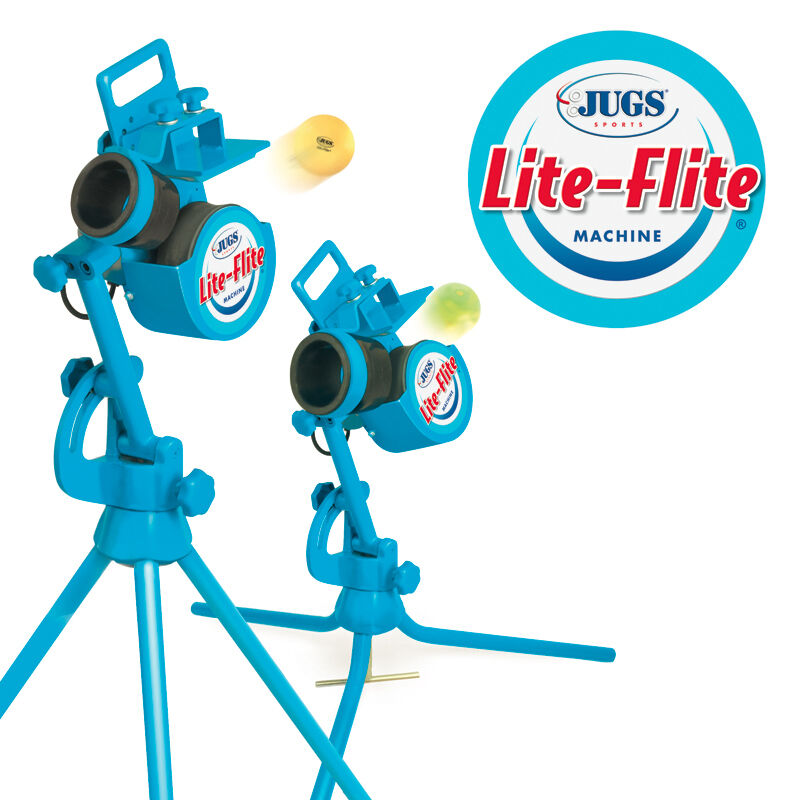 Jugs Lite-flite Pitching Machine Comes With 72 Balls