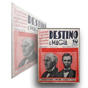 rivista-DESTINO-e-MAGIA-anno-1932-n-21-ASTROLOGIA-LINCOLN-EDISON