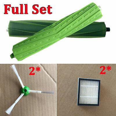 Roller Brushes Side Brushes Filter For Irobot Roomba