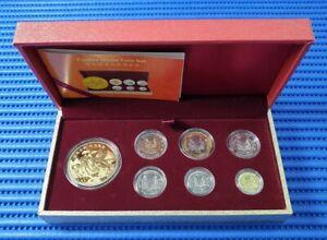 2014-Singapore-Festive-Horse-Medallion-amp-2014-Third-Series-Uncirculated-Coin-Set
