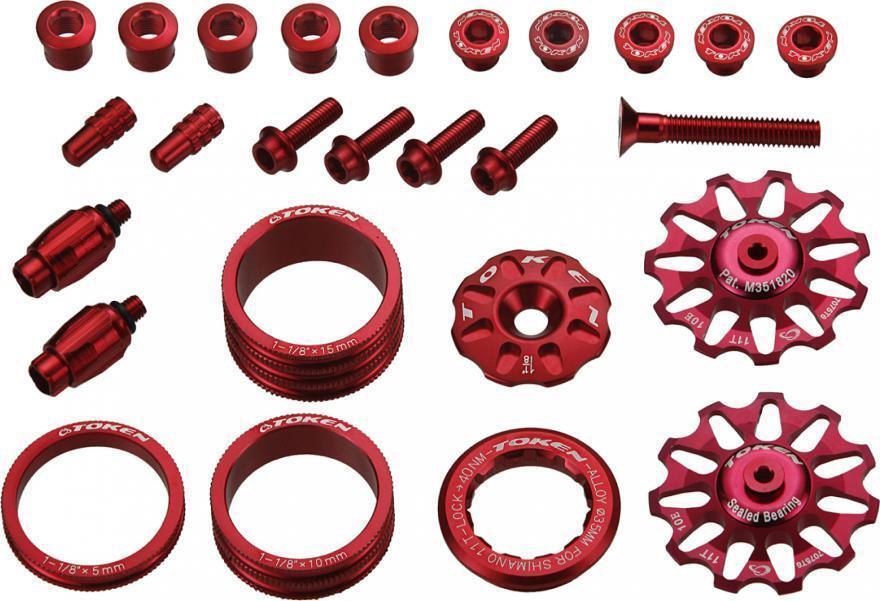 Token tk691 Set di tuning red Campagnolo div.