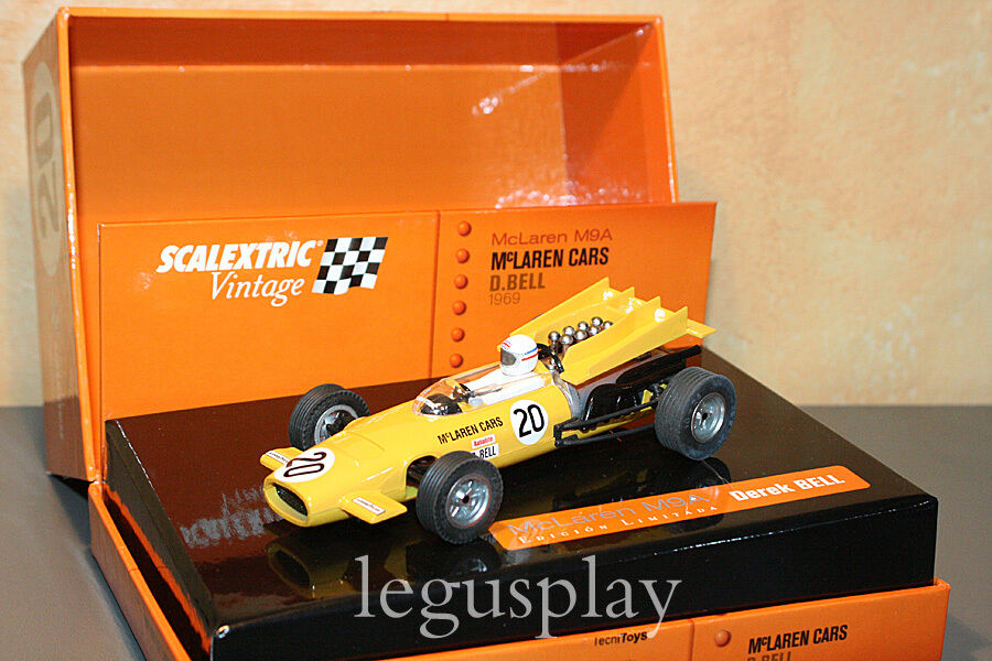 Slot SCX Scalextric 6205 McLaren M9A  Vintage  limitierte Ausgabe- Neu