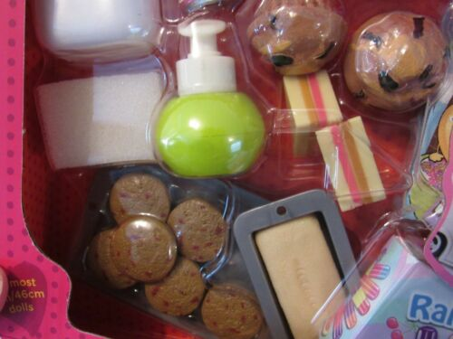"""AG Our Generation 18/"""" Girl Doll RV Seeing You Camper Accessory Set Kitchen Food"""