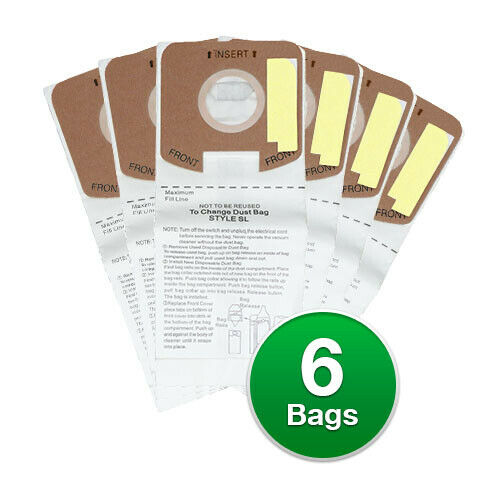 156 Replacement Vacuum Bag for Eureka 61125 Mini Upright S782A 2 Pack