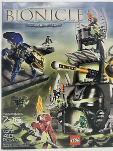 Lego BIONICLE Tower of Toa 8758 with box and Instructions bag #1 Incomplete