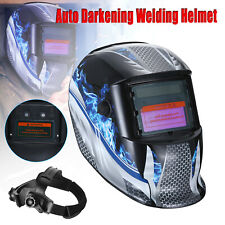 Fmmmt New Auto Darkening Welding Helmet Arc Tig Mig Mask Grinding Welder Hood Us
