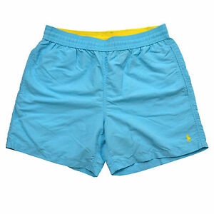 Image is loading Polo-Ralph-Lauren-Lined-Mens-Bathing-Suit-Bottoms-