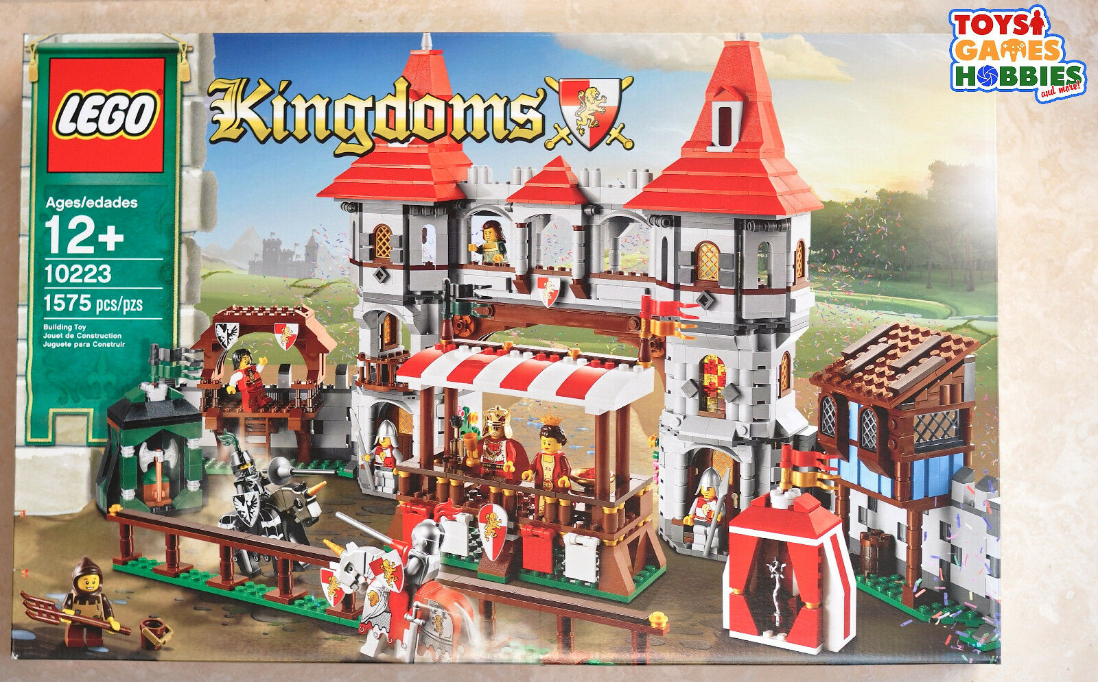 NEW LEGO Kingdoms Joust 10223- Castle Queen Lion Knights Horse Dragon
