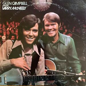 GLEN-CAMPBELL-PRESENTS-LARRY-MCNELLY-RARE-PROMO-LP-DJ-1003-NO-RESERVE